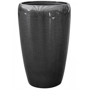 BAQ Amfi pot 43x43x68 cm Grey bloempot binnen