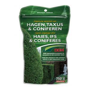 Organische meststof voor hagen, taxus en coniferen
