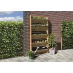 Geimpregneerd grenen verticaal tuinieren set 90 x 180 cm