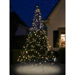 Fairybell licht kerstboom 300 cm 480 LED warm wit inclusief mast