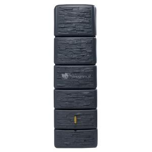 Garantia Slim regenton 300 liter stone decor antraciet