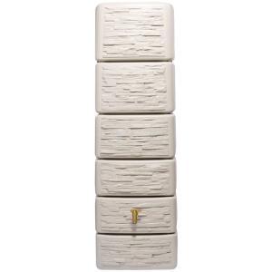 Garantia Slim regenton 300 liter stone decor beige
