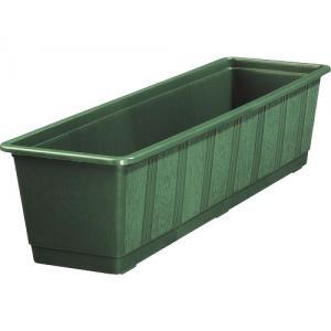 Balkonbak standaard donker groen