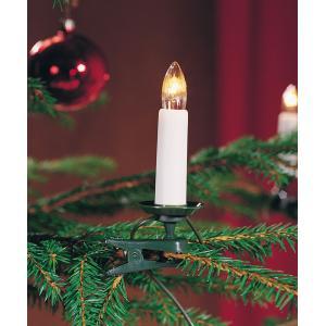 Kerstboomverlichting met 25 kaarslampen