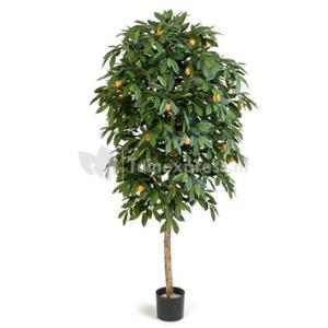 Kunstplant Citrus mandarine XL