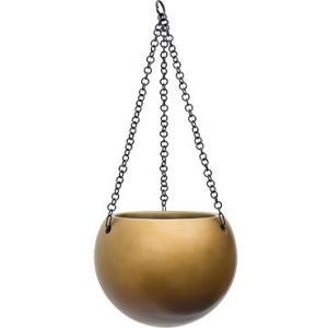 Gradient hanging globe matt honey