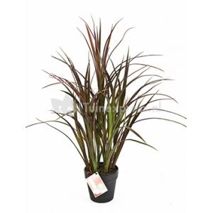 Kunstplant Natural grass red M