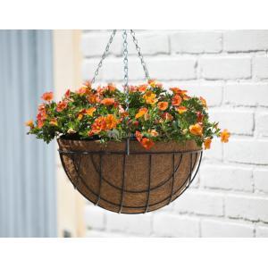 Hanging basket grijs