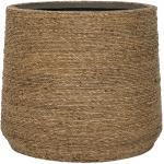 Bohemian Patt XL Straw Grass ronde Rotan bloempot voor binnen 49x41 cm