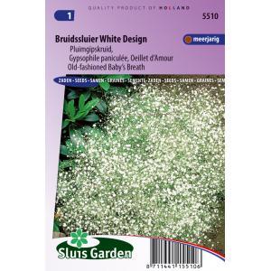 Pluimgipskruid bloemzaden - Bruidssluier White Design