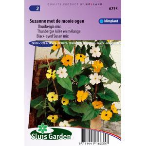 Thunbergia mix bloemzaden – Suzanne met de mooie ogen