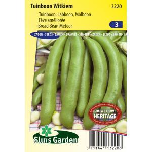 Tuinboon zaden - Witkiem