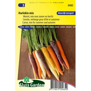 Wortel zaden - Harlekin mix