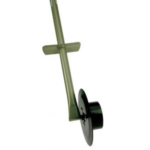 Graskantensnijder op wiel
