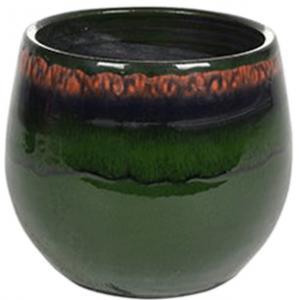 Pot Charlotte green bloempot binnen 15 cm