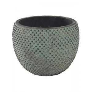 Pot fay blue gold bloempot binnen 18 cm