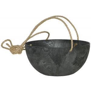 Artstone fiona hanging basket zwart M
