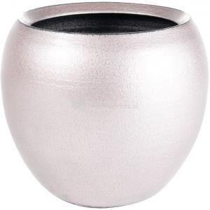 Pot cresta deep pink roze ronde bloempot binnen 22 cm