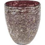 Vase Aya partner dark violet glazen vaas 13 cm