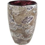 Vase Aya partner dark violet glazen vaas 14 cm